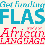 Get FLAS funding to study a language