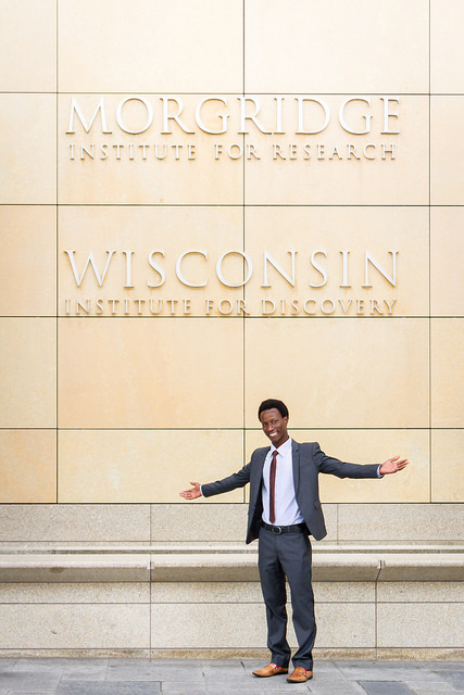 Jean Bosco Nzeyimana (Photo by Catherine A. Reiland/UW-Madison).