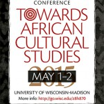Towards African Cultural Studies